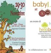Torna Baby Land in Cascina Cuccagna il 29 e 30 Novembre a Milano
