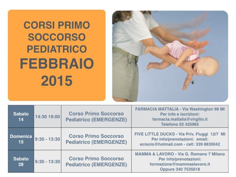 Calendario Corsi locandina Febbraio 2015