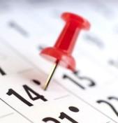 Calendario Corsi ed Eventi nel Mese di Settembre 2016