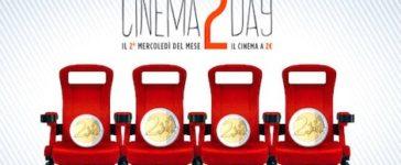 Andare al Cinema a 2 Euro? Ora si può con Cinema2Day