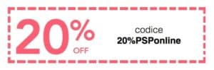 coupon sconto 20%