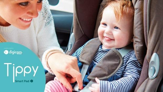 Tippy Smart Pad seggiolini auto