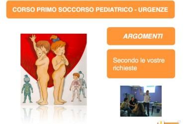 Corso Primo Soccorso – Le Urgenze Pediatriche