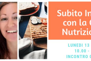 Subito In forma con il Coach Nutrizionale – Incontro gratuito!