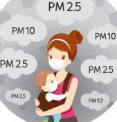PM10 molto pericoloso per i bambini in tutte le città. I filtri d'aria come protezione?